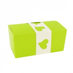 Kit Ballotin vert / blanc Patisdécor (x2)