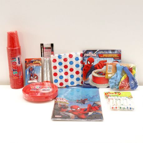 Pack Sweet table Spiderman