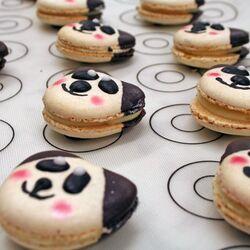 Pack ingrédients Tuto Macarons Panda