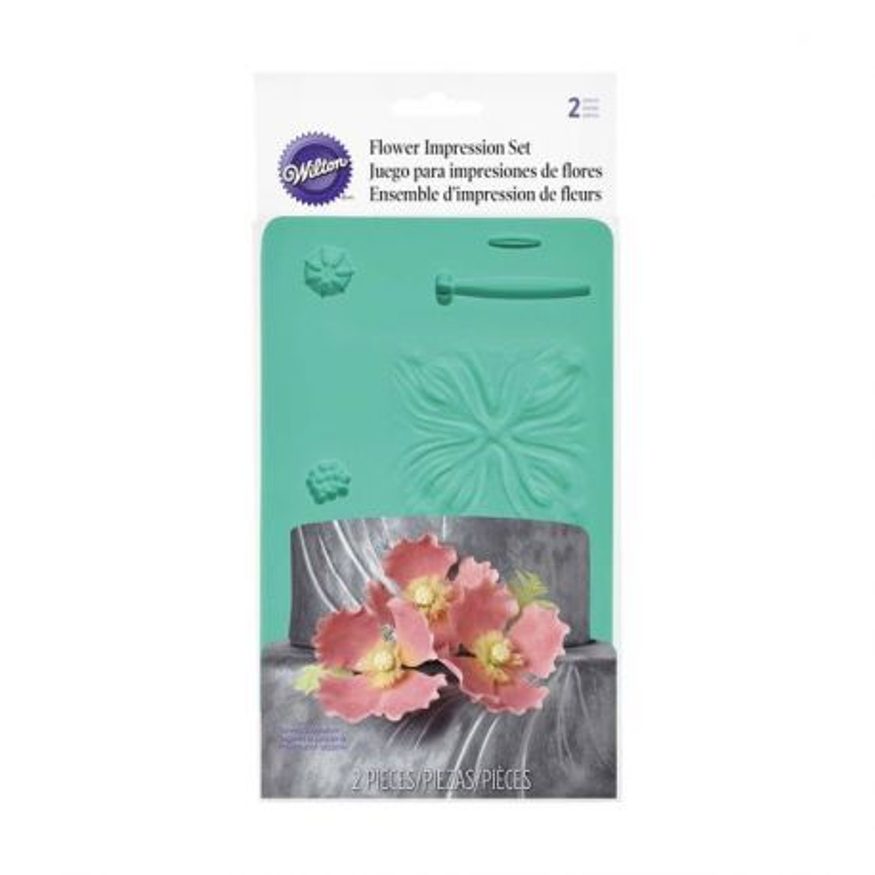 Kit d'impression de fleurs Wilton