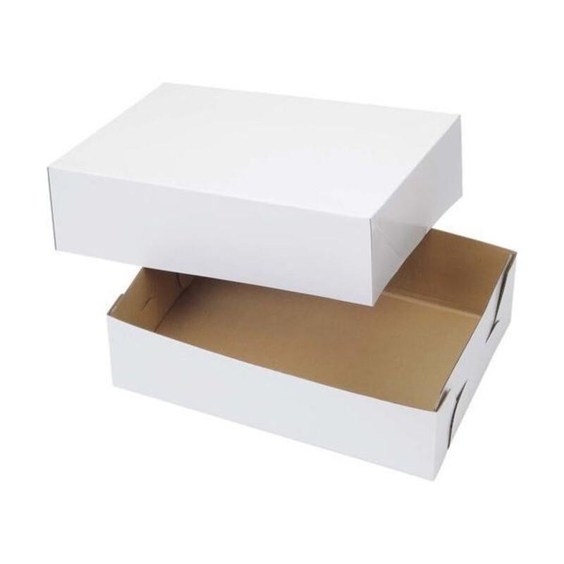 Boîte à gâteau blanche Wilton (x2)