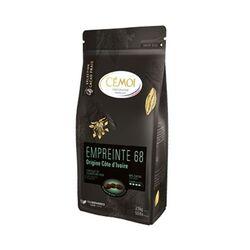 Chocolat noir Côte d'Ivoire Empreinte 68% palets 1 kg