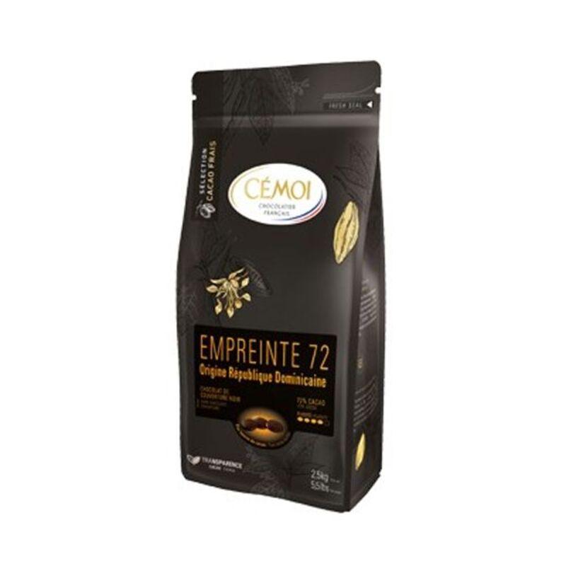 Chocolat noir Rép Dominicaine Empreinte 72 palets 1 kg