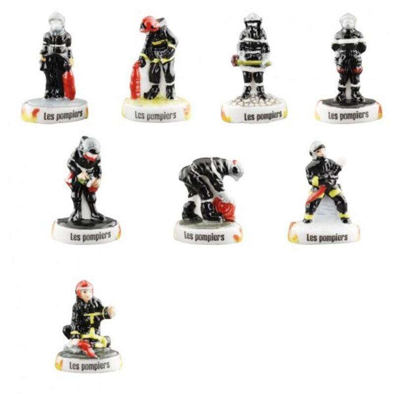 Fèves Nos Amis les Pompiers (x100)