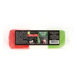 Pâte à sucre Noël 3 coloris Patisdécor 250 g