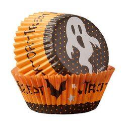 Caissette cupcake Halloween Fantôme Wilton (x75)