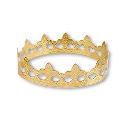Couronne des rois étoiles dorée (x100)