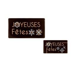 Rectangles chocolat Flocons assortis (x64)