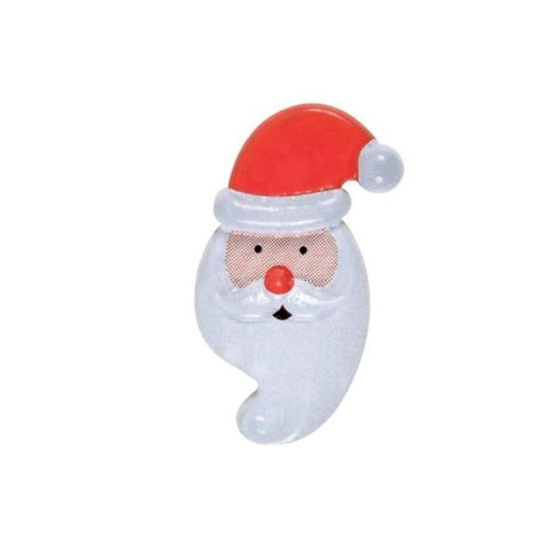 Décor chocolat Tête Père Noël (x84)