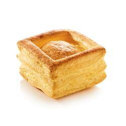 Vol-au-Vent carré au beurre (x4)
