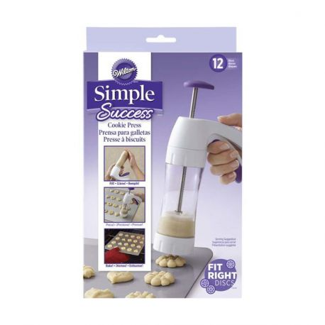 Presse à cookies Simple Success Wilton