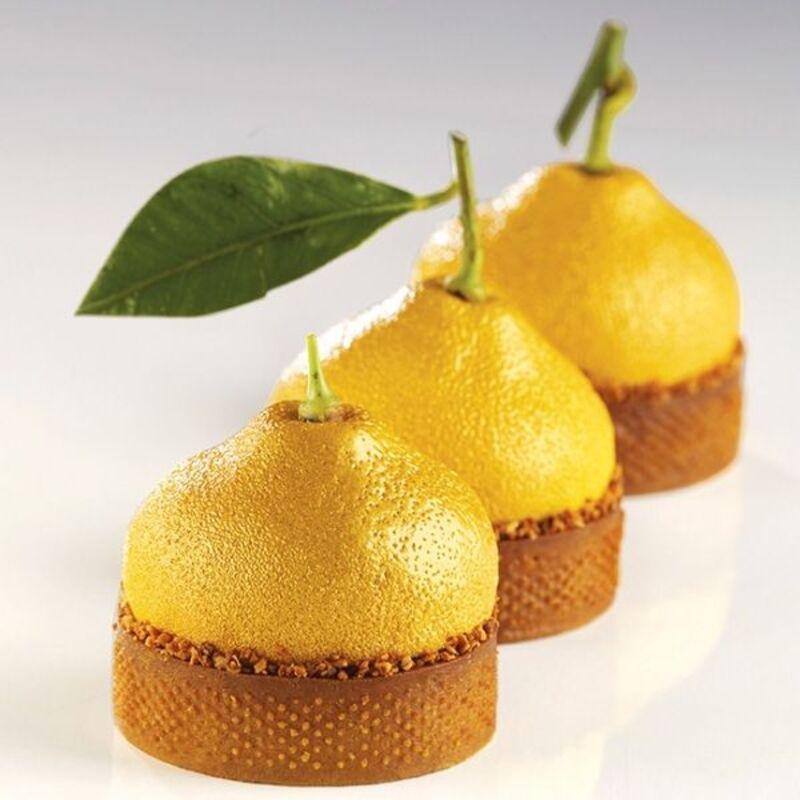 Moule mini tarte 3D Citrons Pavoni