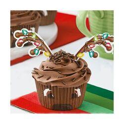 Kit déco cupcakes Renne Wilton (x24)
