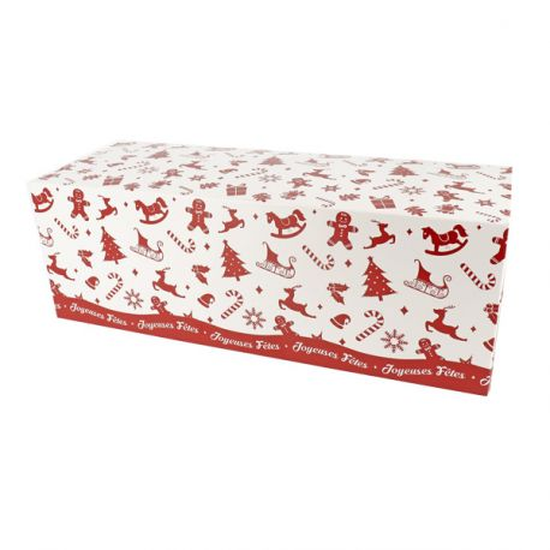 Boîte à bûche Scandi (x25)