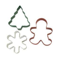 Emporte-pièces biscuits de Noël Wilton (x3)