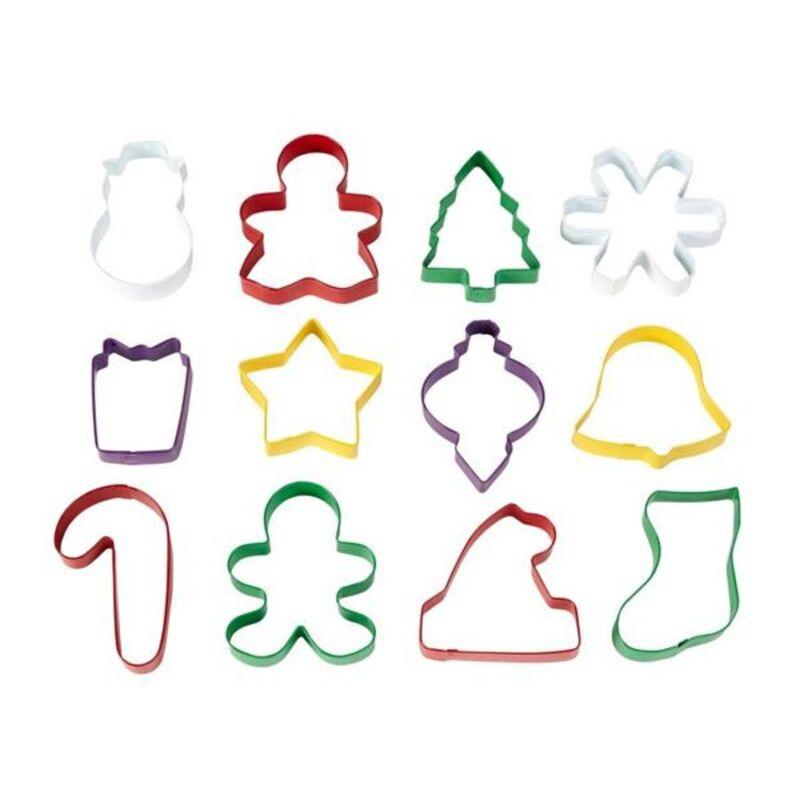 12 Emporte-pièces biscuits de Noël Wilton