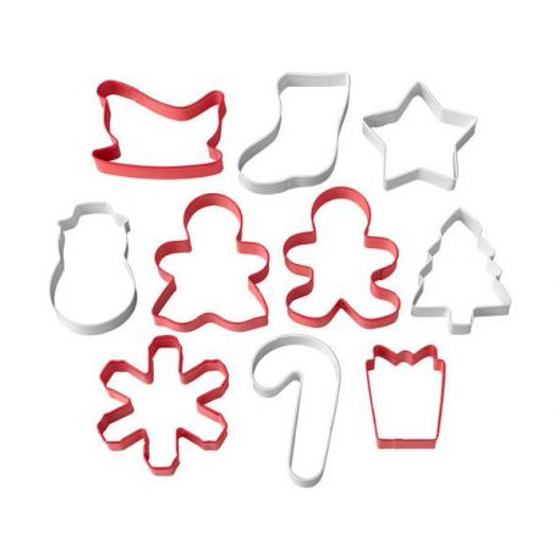 10 Emporte-pièces biscuits de Noël Wilton