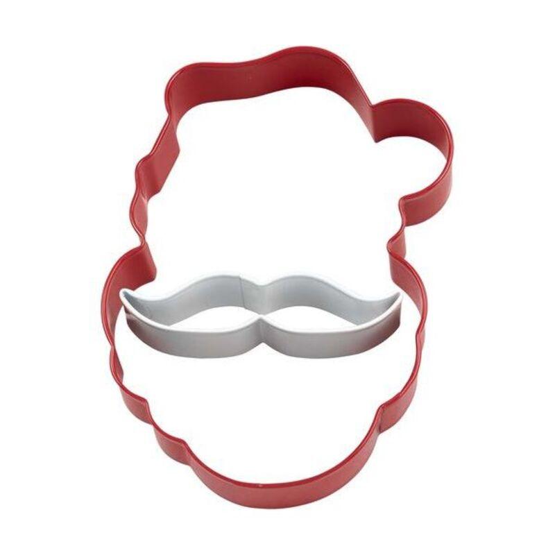 Emporte-pièce Comfort Grip Père Noël Moustache Wilton