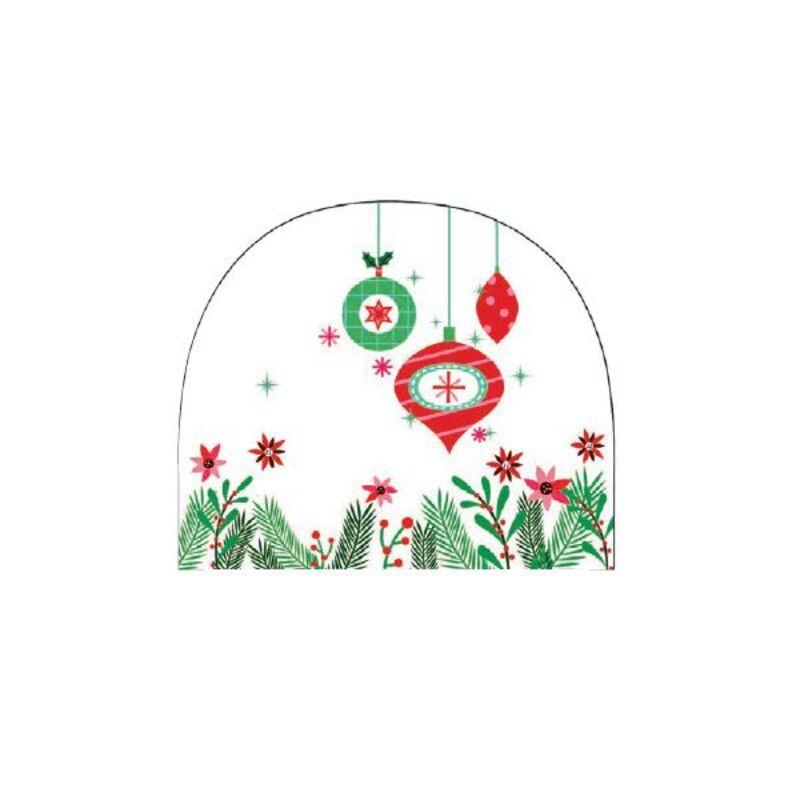 Embouts de bûche Sapin de Noël azyme (x54)