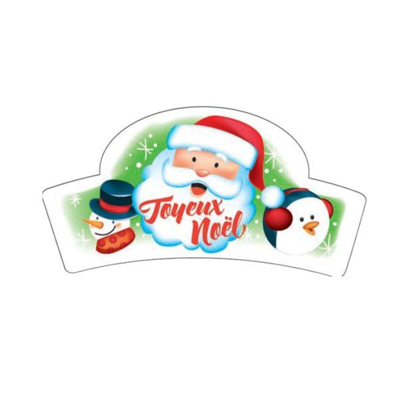 Banderoles azyme Joyeux Noël (x24)