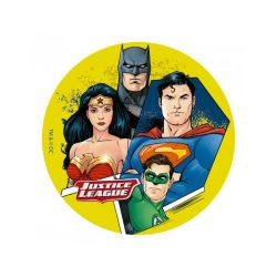 Disque sucre Justice League 16 cm