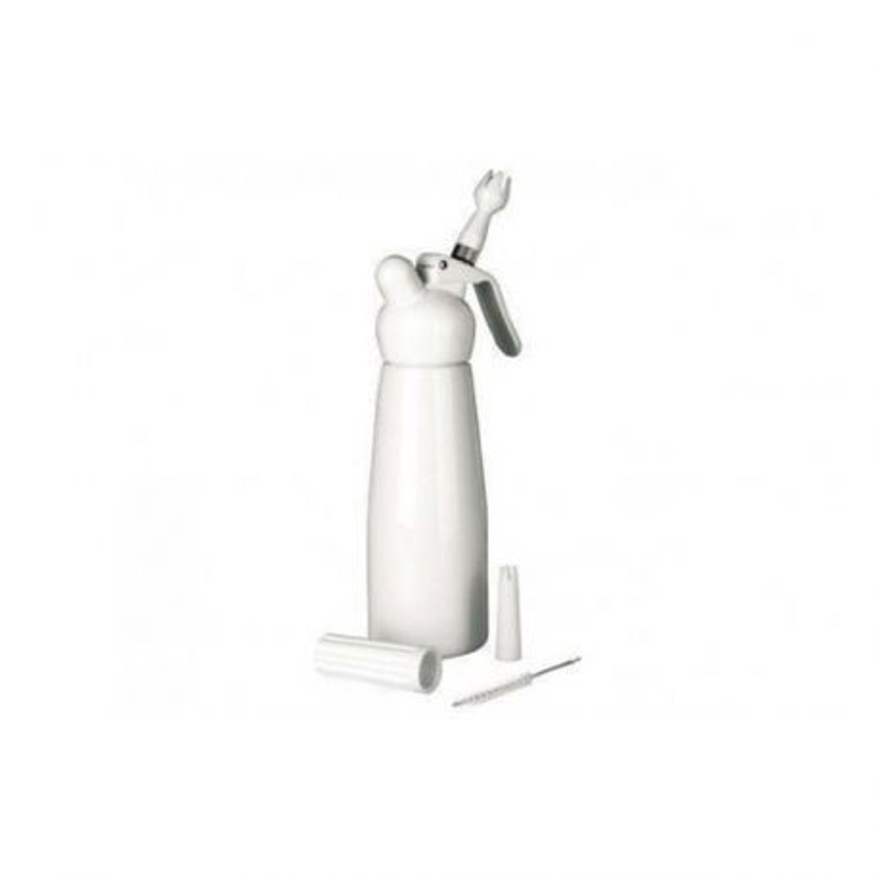 Siphon à crème blanc 0,50 L