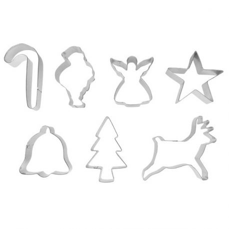 Emporte-pièces Noël assortis (x7)