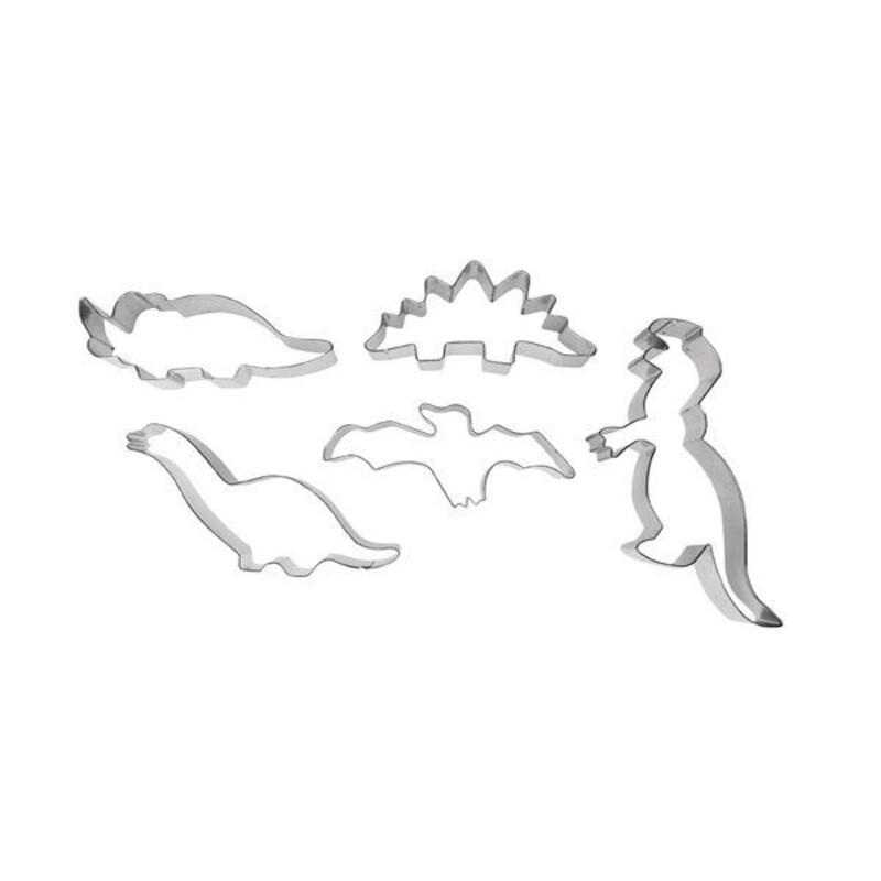Emporte-pièces Dinosaures assortis (x5)