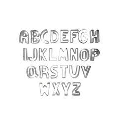 Emporte-pièces lettres alphabet inox