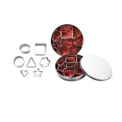 Emporte-pièces mini assortis (x24)