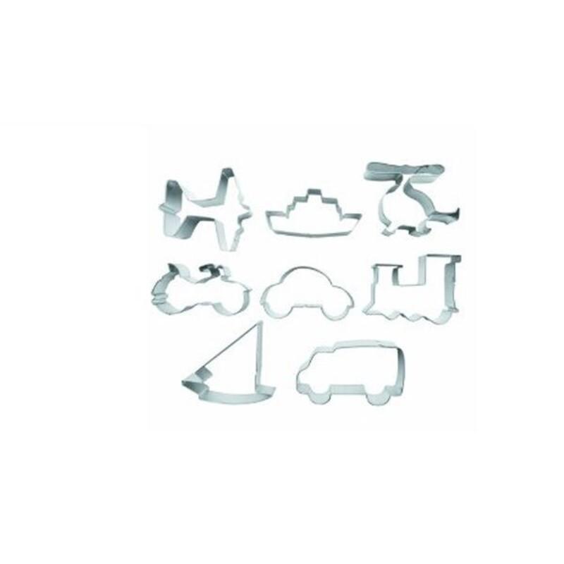 Emporte-pièces Véhicules assortis (x8)