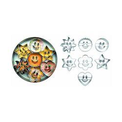 Emporte-pièces Smiely assortis (x7)