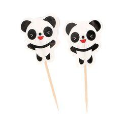 Cupcake Toppers Pandas (x20)