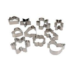 Emporte-pièces  inox formes assorties Patisdécor (x15)
