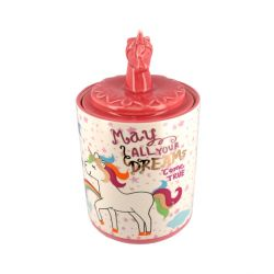 Pot à bonbons Licorne céramique