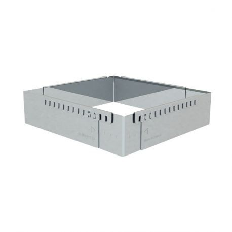 Cadre extensible inox rectangle De Buyer
