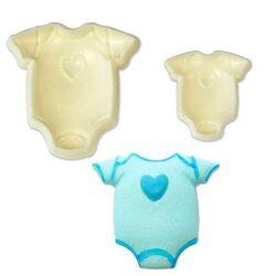 Découpoirs relief layette bébé (x2)