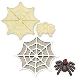 Découpoirs relief araignée et toile (x2)
