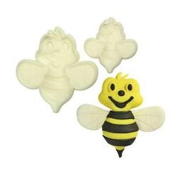 Découpoirs relief abeilles assortis (x2)