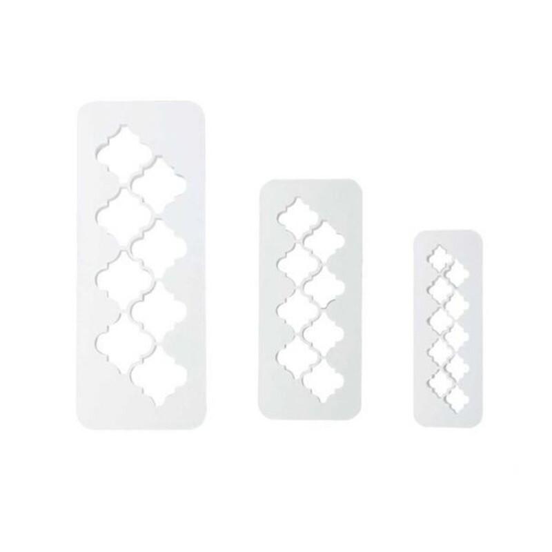 Découpoir géométrique lanterne marocaine PME (x3)