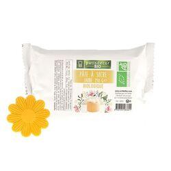 Pâte à sucre jaune Bio 250 g Patisdécor Bio