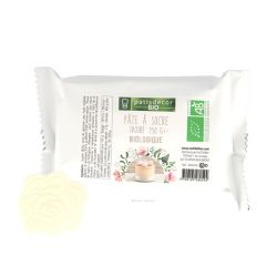 Pâte à sucre ivoire bio Patisdécor Bio 250 g