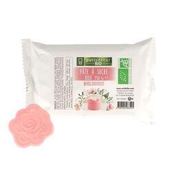 Pâte à sucre rose Bio 250 g Patisdécor Bio