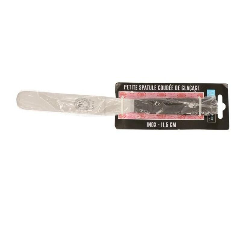 Petite spatule de glaçage coudée Patisdécor 11,5 cm