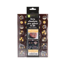 Disque décor chocolat