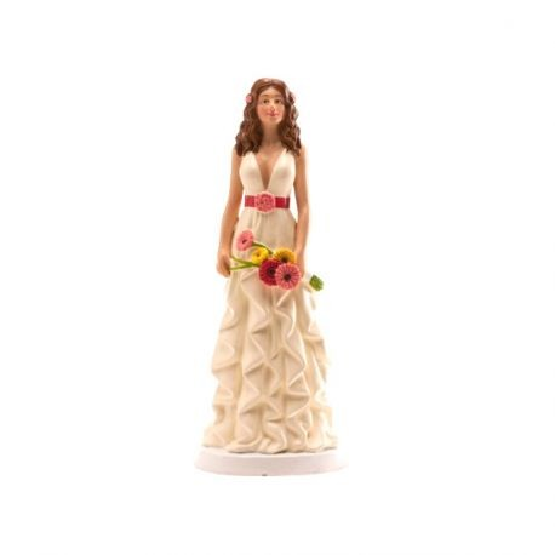 Mariée robe ondulée 16 cm