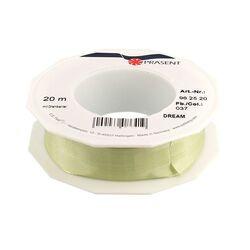 Ruban vert anis 25 mm (20 m)