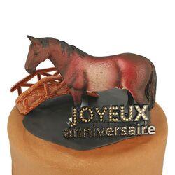 Kit Décor Gâteau Cheval