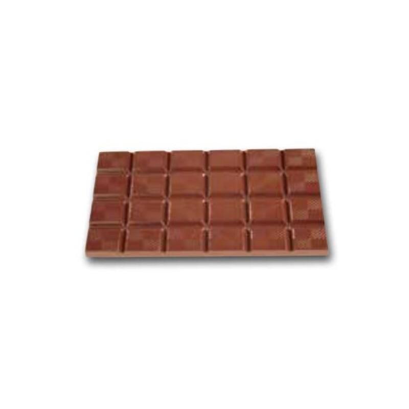 Moule chocolat plaquettes 16 x 7 cm