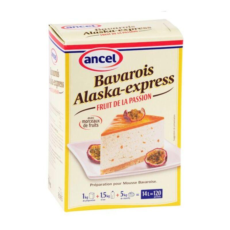 Préparation bavarois fruits de la passion Alaska 1 kg